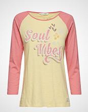 Odd Molly Sweet Vibrations L/S Top T-shirts & Tops Long-sleeved Gul ODD MOLLY