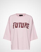 Storm & Marie Future-Ls T-shirts & Tops Short-sleeved Rosa STORM & MARIE