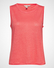 Banana Republic Sl Linen Shorter Length Tank T-shirts & Tops Sleeveless Rosa BANANA REPUBLIC