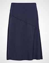 Esprit Collection Skirts Light Woven Knelangt Skjørt Blå ESPRIT COLLECTION