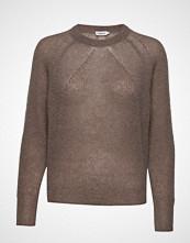 Filippa K Mohair R-Neck Sweater Strikket Genser Brun FILIPPA K