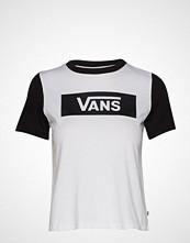 Vans V Tangle Range Ringer T-shirts & Tops Short-sleeved Hvit VANS