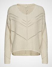 Odd Molly Move Me Sweater Strikket Genser Creme ODD MOLLY