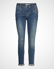 Mos Mosh Nelly Favourite Jeans Skinny Jeans Blå MOS MOSH