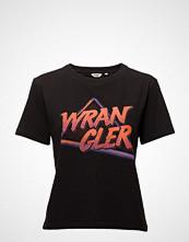 Wrangler Boxy Tee T-shirts & Tops Short-sleeved Svart Wrangler
