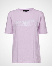 Soft Rebels Ebba T-Shirt T-shirts & Tops Short-sleeved Rosa SOFT REBELS
