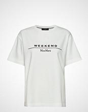 Weekend Max Mara Oliato T-shirts & Tops Short-sleeved Hvit WEEKEND MAX MARA