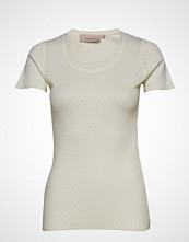 Noa Noa T-Shirt T-shirts & Tops Short-sleeved Creme NOA NOA
