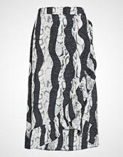 Pulz Jeans Pzsnake Skirt Knelangt Skjørt Multi/mønstret PULZ JEANS