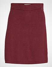 Lexington Clothing Chastity Knitted Skirt Kort Skjørt Rød LEXINGTON CLOTHING