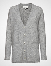 3.1 Phillip Lim Lofty Welt Pocket Cardigan W Pearls Strikkegenser Cardigan Grå 3.1 PHILLIP LIM