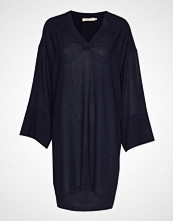 Rabens Saloner Light Felt Dress Knelang Kjole Blå RABENS SAL R