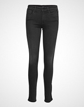 Replay New Luz Hyperflex Jewel Skinny Jeans Svart REPLAY