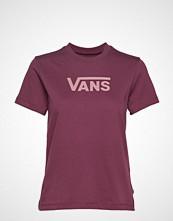Vans Wm Flying V Classic T-shirts & Tops Short-sleeved Rød VANS