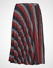 Esprit Casual Skirts Knitted Knelangt Skjørt Multi/mønstret ESPRIT CASUAL