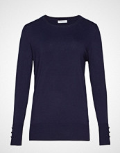 Violeta by Mango Fine-Knit Sweater Strikket Genser Blå VIOLETA BY MANGO
