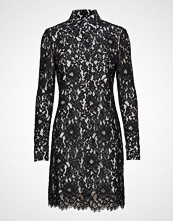 Calvin Klein Lace Dress Ls Kort Kjole Blå CALVIN KLEIN