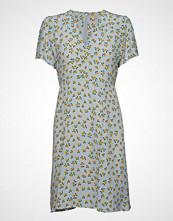 by Ti Mo 50s Dress Knelang Kjole Blå BY TI MO