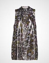 Ganni Lurex Silk Kort Kjole Multi/mønstret GANNI