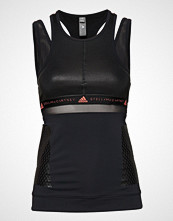Adidas by Stella McCartney Run Tank T-shirts & Tops Sleeveless Svart Adidas By Stella McCartney