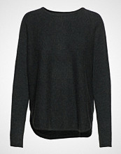 Davida Cashmere Curved Sweater Strikket Genser Grønn DAVIDA CASHMERE