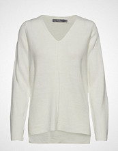 B.Young Bymalea V Neck Jumper - Strikket Genser Creme B.YOUNG