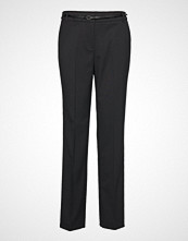 Esprit Collection Pants Woven Bukser Med Rette Ben Svart ESPRIT COLLECTION