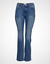 Violeta by Mango Bootcut Martha Jeans Jeans Sleng Blå VIOLETA BY MANGO