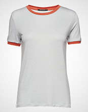 Bruuns Bazaar Katka Elsa Tee T-shirts & Tops Short-sleeved Hvit BRUUNS BAZAAR