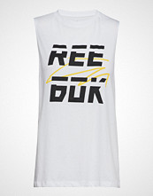 Reebok Performance Wor Myt Reebok Muscle T-shirts & Tops Sleeveless Hvit REEBOK PERFORMANCE
