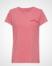 GAP Ss Gr Tee Olx T-shirts & Tops Short-sleeved Rosa GAP