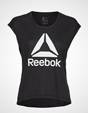 Reebok Performance Wor Supremium 2.0 Tee Bl T-shirts & Tops Short-sleeved Svart REEBOK PERFORMANCE
