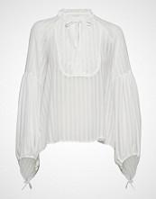 Munthe Hesitate T-shirts & Tops Long-sleeved Hvit MUNTHE