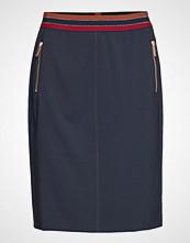 Betty Barclay Skirt Medium Length Classic Blyantskjørt Skjørt Blå BETTY BARCLAY