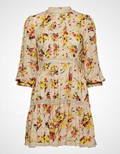 by Ti Mo Delicate Semi Mini Dress Kort Kjole Creme BY TI MO