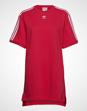 Adidas Originals Tee Dress Kort Kjole Rød ADIDAS ORIGINALS