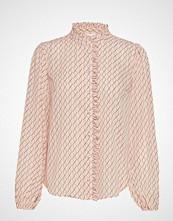 Saint Tropez U1014, Woven Shirt L/S Langermet Skjorte Rosa SAINT TROPEZ