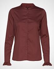 Mos Mosh Mattie Shirt Langermet Skjorte Rød MOS MOSH