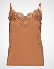 Soaked in Luxury Sl Clara Singlet T-shirts & Tops Sleeveless Brun SOAKED IN LUXURY