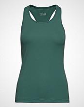 Casall Rib Racerback T-shirts & Tops Sleeveless Grønn CASALL
