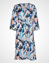 Yas Yasmoira 3/4 Dress Knelang Kjole Multi/mønstret YAS