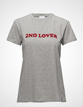 2nd Day 2nd Lover T-shirts & Tops Short-sleeved Grå 2NDDAY