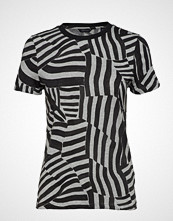 Scotch & Soda Allover Printed Short Sleeve Tee In Soft Quality T-shirts & Tops Short-sleeved Multi/mønstret SCOTCH