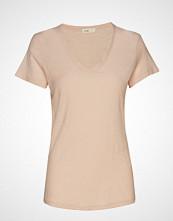 Levete Room Lr-Any T-shirts & Tops Short-sleeved Rosa LEVETE ROOM