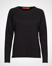 Coster Copenhagen Longsleeved T-Shirt W. Raglan Sleev Strikket Genser Svart COSTER COPENHAGEN
