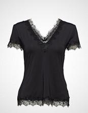 Rosemunde T-Shirt Ss Bluse Kortermet Svart ROSEMUNDE