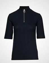 Peak Performance W Ribhalfz T-shirts & Tops Short-sleeved Blå PEAK PERFORMANCE