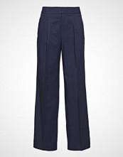 Twist & Tango Bettina Trousers Blackish Blue Vide Bukser Blå TWIST & TANGO