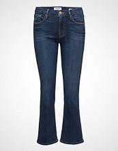 FRAME Le Crop Mini Boot Jeans Boot Cut Blå FRAME