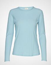 Levete Room Lr-Any T-shirts & Tops Long-sleeved Blå LEVETE ROOM